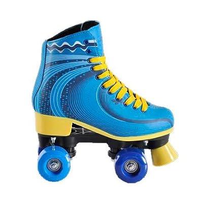 Amaya–Amaya Patin Chaussures montantes Junior Bleu–8623406062988–32–33