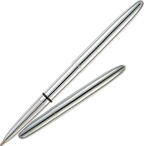 Fisher Space Pen Bullet Chrome Finish, Gift Boxed (400) - Chrome Finish Four