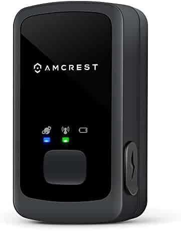 Amcrest AM-GL300 V3 Portable Mini Real-Time GPS Tracker - Unlimited Text Message/Email Alerts, Geo-Fencing, 10-14 Day Battery, No Contracts, Upgraded GSM