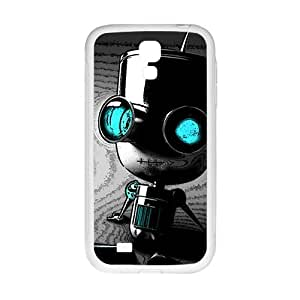 Cute Seated robot Cell Phone Case for Samsung Galaxy S4