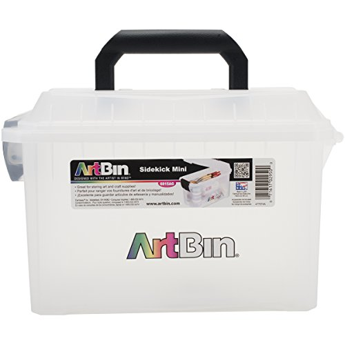 ArtBin Mini Sidekick Storage Box- Art/ Craft Supply Storage Container, 6815AG -
