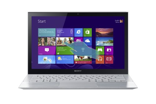Sony VAIO Pro SVP1321DCXS 13-Inch  Touchscreen Ultrabook (1.80 GHz Intel Core i7-4500U Processor, 8GB DDR3, 128GB SSD, Windows 8)Carbon Silver