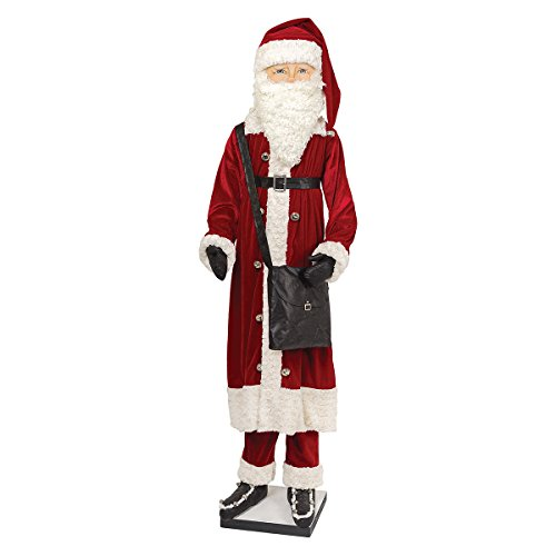 Gallerie II Gathered Traditions Kingsley Life Size Santa Collectible Figurine, - Galleria Ii