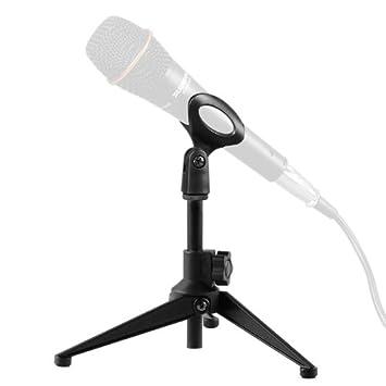 Amazoncom OKEBA Foldable Microphone Desk Desktop Tabletop Mic