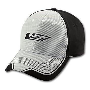Cadillac V Logo Grey and Black Baseball Cap for CTS-V 40a37126e8e5