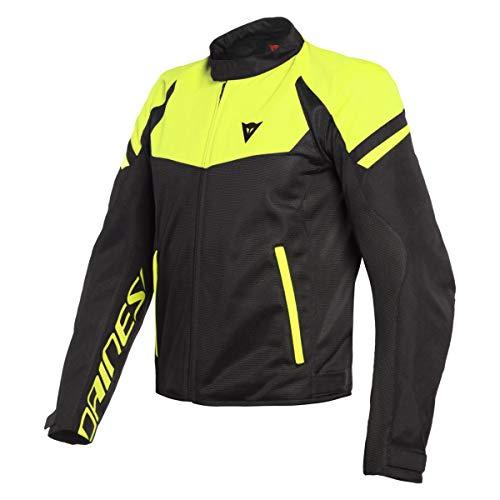 Dainese Bora Air Jacket - Black/Fluo Yellow (Euro 50 / US 40)