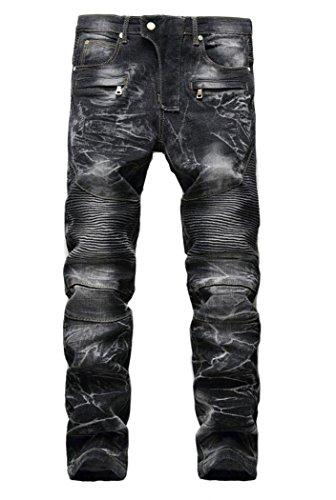 Zipper Men Jeans - 9