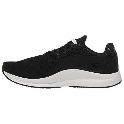 Puma - Zapatos De Animales Con Encaje Haast Para Mujer, Tamaño: 8.5 B (m) Us, Color: Negro / Oro Nuevo