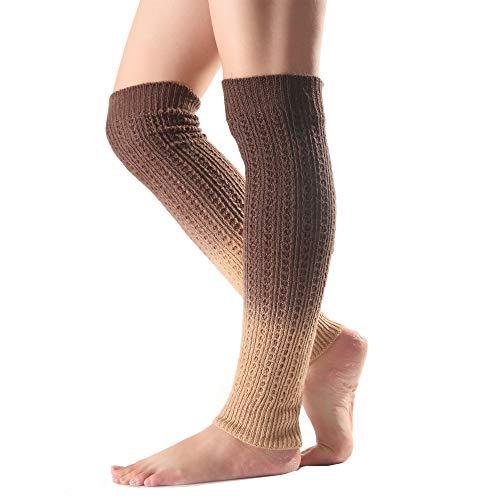 Beinwärmer im Winter warm Herbst Socken Stulpen Stiefel Beinstulpen ...