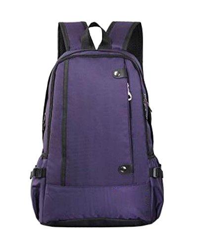 LAIDAYE Hombros Montañismo Bolsas De Viaje De Negocios Negocios De Ocio De Usos Múltiples Mochila De Viaje Purple
