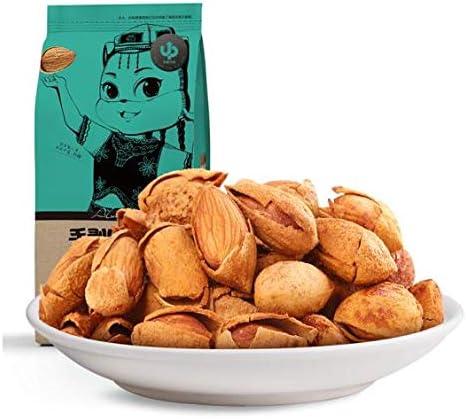 三只松鼠 奶香味手剥巴旦木 中国名物 おつまみ Daben® 大人気 坚果炒货零食特产每日坚果 235g/袋