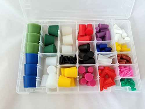 High Temperature Silicone Plug Kit for Paint and Powder Coating