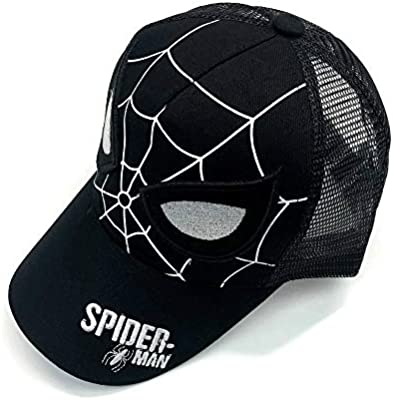 Toddler Kids Boys Girls Spider-Man Baseball Cap Adjustable Snapback Hip-hop Hat