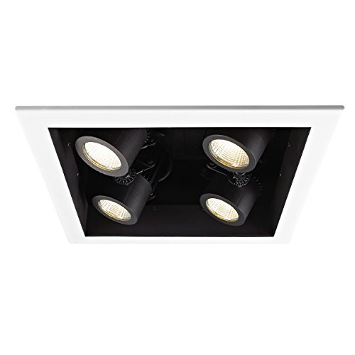 Wac Lighting MT-4LD226T-WT Trim for 4 Light LED Precision...