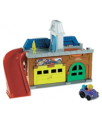 Fisher-price Little People Wheelies Stow N Tow Garage from Fisher-Price