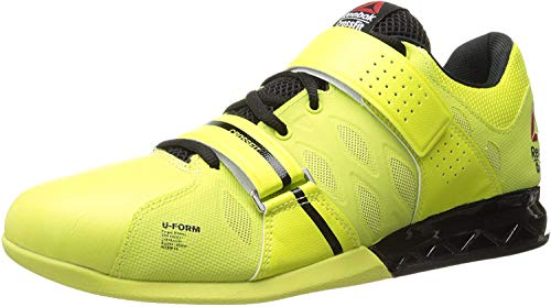 Reebok Men's Crossfit Lifter Plus 2.0-M, High Vis Green/Black, 8 M US
