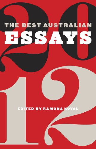 Ebook cover from The Best Australian Essays 2012by Black Inc.