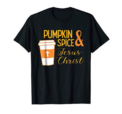 Pumpkin Spice Jesus Christ Autumn Religion -