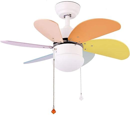 Luz de ventilador de techo, lámpara de ventilador LED de alto ...