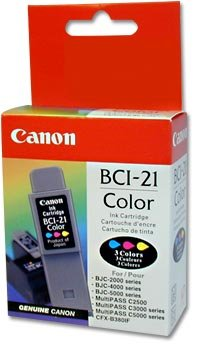 Ink Tank BCI-21 for BC21e Canon BJC-2000/4000/5000/MultiPASS/C5000
