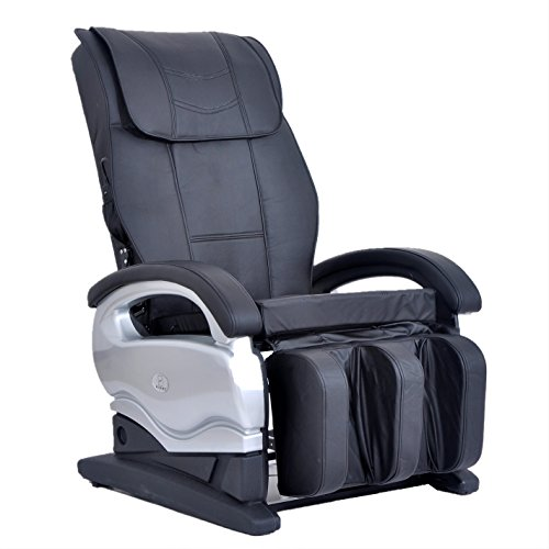 Electric Full Body Shiatsu Massage Chair Recliner Chair 8881 (Black)