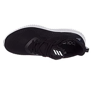 adidas Originals Men's Alphabounce 1 M Running Shoe, Black/Utility Black/White, 11.5 M US