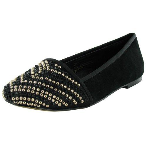 Steven By Steve Madden Womens Kaela Slip On Flat Shoe, Bl...