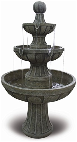 Bond Y97016 Napa Valley 45 inch Fiberglass Fountain by Bond