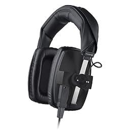 Beyerdynamic DT-100-400OHM-BLACK Closed Studio Headphones for Monitoring, EFP/ENG and Live Applications, 400 Ohms, Black