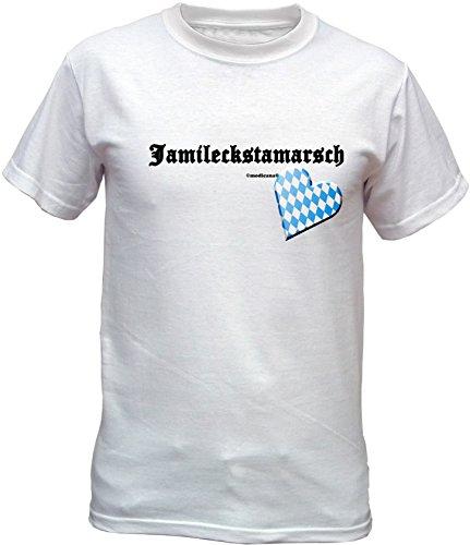 Wiesn T-Shirt - Ja mi leckst am Arsch - lustiges Bayerisches Sprüche Shirt ideal für's Oktoberfest statt Lederhose und Dirndl