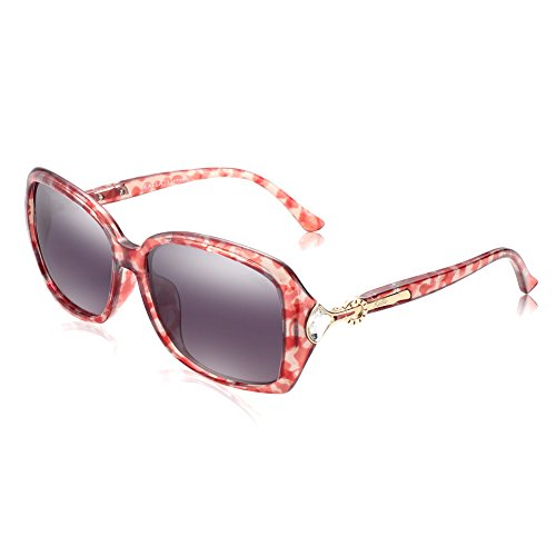 KALLA Women's Square Sunglasses, Polarized, 100% UV protection, - Sunglasses & Charm Charm