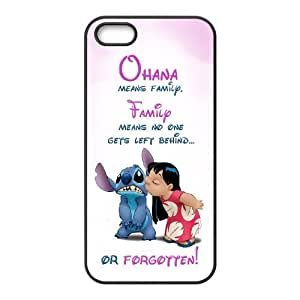 Yo-Lin case IKAI0447830Cute Stitch For Apple Iphone 5 5S Cases