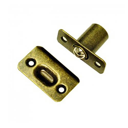 Better Home Products Ball Catch Door Hardware Antique Brass