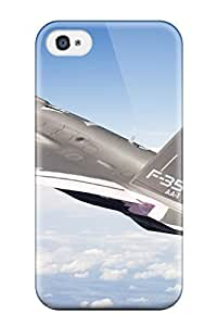 Hu Xiao Cute Appearance Cover/tpu Jet Fighter 4ihJ9ga3WxY case cover For Iphone 4/4s