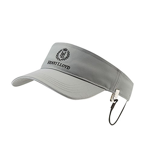 Henri Lloyd Freedom Sailing Visor and Retainer 2018 - Titanium by Henri Lloyd