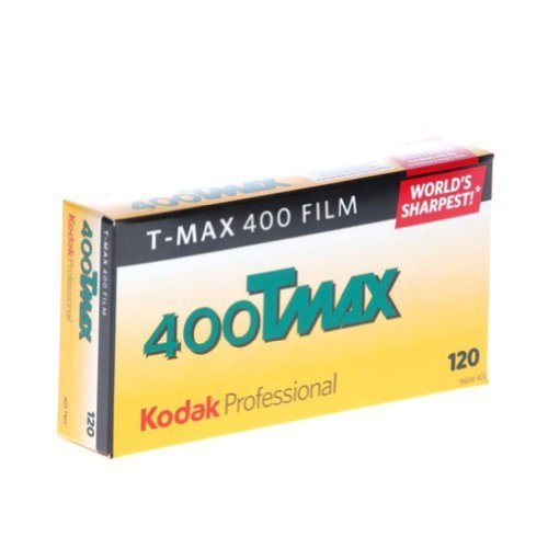 Kodak 856 8214 Professional 400 Tmax Black and White Negative Film 120 (ISO 400) 5 Roll Pack Portable Consumer Electronics Home Gadget by Portable & Gadgets