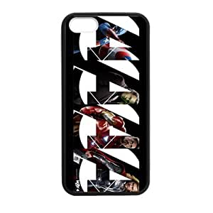 iPhone 5 Case, [The Avengers] iPhone 5,5s Case Custom Durable Case Cover for iPhone5 TPU case(Laser Technology)