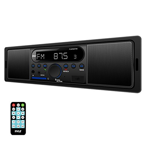 Pyle PLMR8BTBK Bluetooth Headunit Receiver