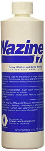 Fleming Wazine 17 Turkey, Chicken & Swine Wormer