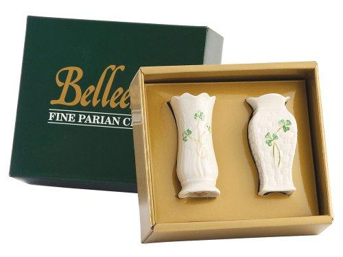 Belleek Shamrock Set Mini Vases product image
