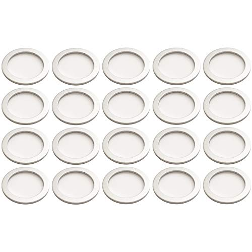 Prime Ave (20) OEM Crush Aluminum Oil Drain Plug Gasket Washers For Porsche (Washer Crush Replacement)