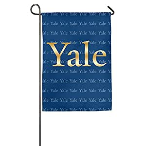 Yale University oro Logo bandera de Jardín