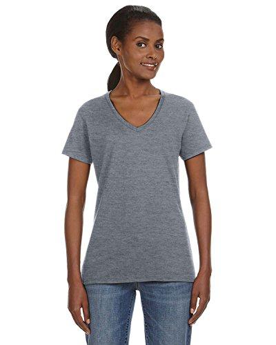Anvil Heather Graphite. L. 88VL. (Anvil Heavyweight T-shirt)