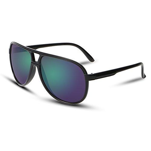 1 Limotai De Exterior como Aviador De De De Sol Hombres Colorido Solgafas Clásicas Se Hombres Sol Alta Gafas Sol Green Calidad Gafas Distinguidos Muestra De Gafas 1trqR1