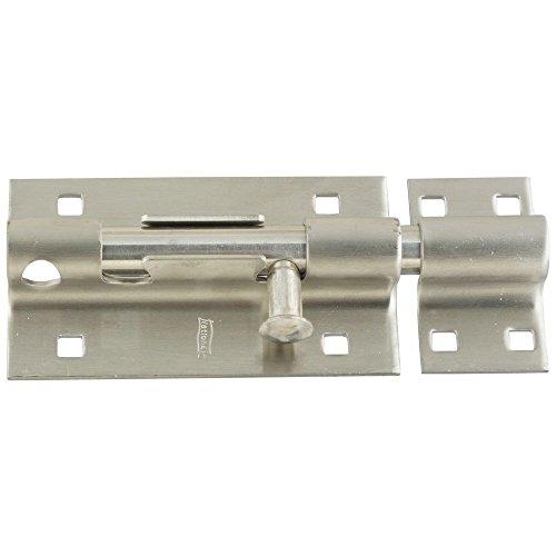 National Hardware N342-477 V839 Barrel Bolt in Stainless Steel