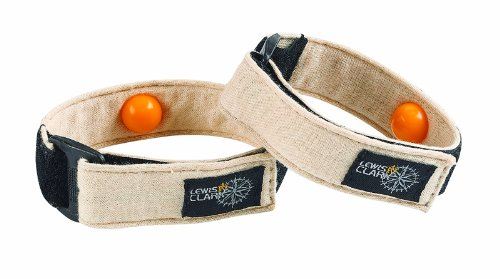 Lewis N. Clark Adjustable Motion Relief Bands, Multi, One Size - Acupressure Motion Sickness