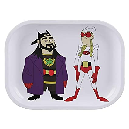 "Bluntman & Chronic Rolling Tray - 13.5"" X 11"" / Large 
