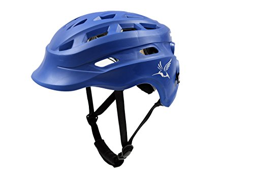 The Hummingbird: Girls Lacrosse Headgear (Royal, Small/Medium)