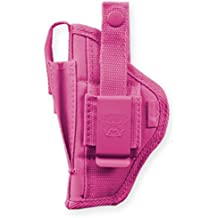 Bulldog Cases Nylon Hip Holster|Sizes for Revolver And Semi-Auto| Fits Glock, S&W, Ruger, Springfield, Taurus |