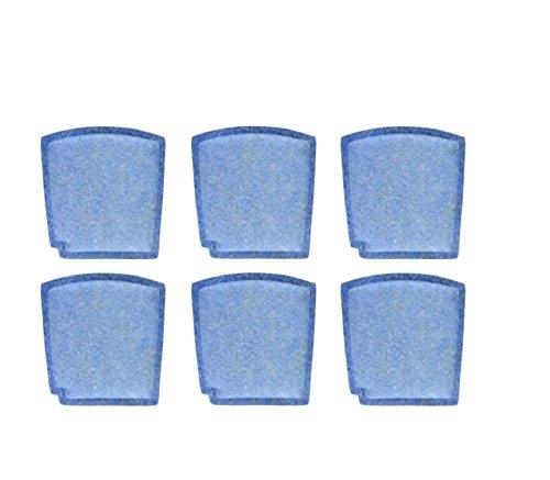 Nispira Filter Replacement Compatible with Hamilton Beach Pet TrueAir True Air Purifier Odor Eliminators Model 04384, 04386, 04532, 04532GM, 04530, 6 Packs by Nispira